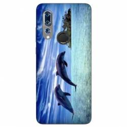 Coque Wiko View 3 Dauphin ile