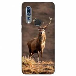 Coque Wiko View 3 chasse chevreuil Blanc