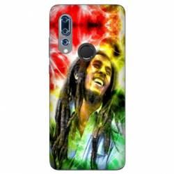 Coque Wiko View 3 Bob Marley Color