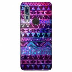Coque Wiko View 3 motifs Aztec azteque violet