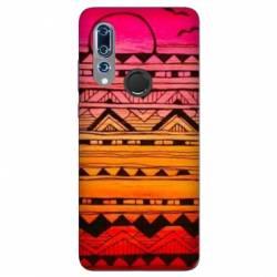 Coque Wiko View 3 motifs Aztec azteque soleil