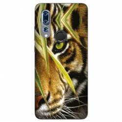 Coque Wiko View 3 œil tigre