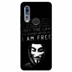 Coque Wiko View 3 Anonymous I am free