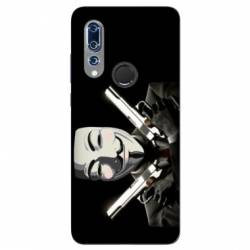Coque Wiko View 3 Anonymous Gun