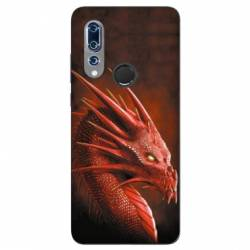 Coque Wiko View 3 Dragon Rouge