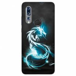 Coque Wiko View 3 Dragon Bleu