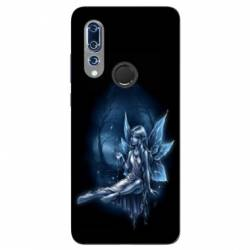 Coque Wiko View 3 Fee Bleu