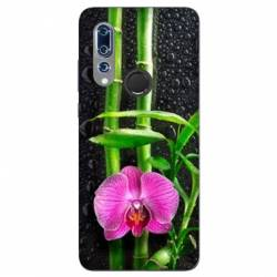 Coque Wiko View 3 orchidee bambou
