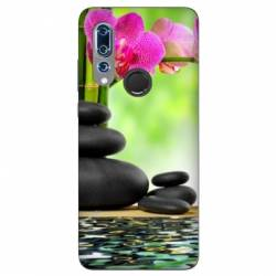 Coque Wiko View 3 orchidee eau