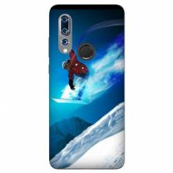 Coque Wiko View 3 Snowboard saut