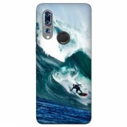 Coque Wiko View 3 Surf vague