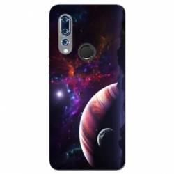Coque Wiko View 3 Planete rouge