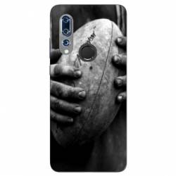 Coque Wiko View 3 Rugby ballon vintage