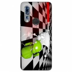 Coque Wiko View 3 Damier