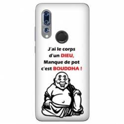 Coque Wiko View 3 Humour Bouddha