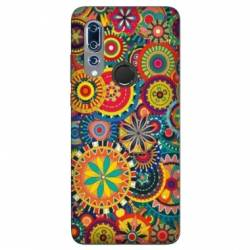 Coque Wiko View 3 Psychedelic Roue