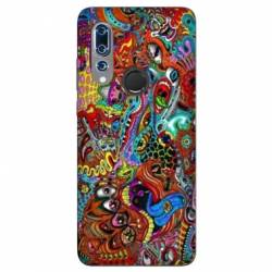 Coque Wiko View 3 Psychedelic Yeux