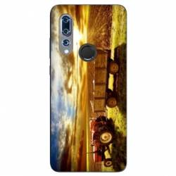 Coque Wiko View 3 Agriculture Tracteur color