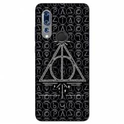 Coque Wiko View 3 WB License harry potter pattern triangle noir
