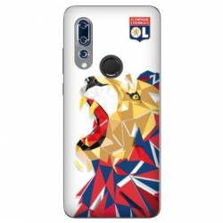 Coque Wiko View 3 License Olympique Lyonnais OL - lion color