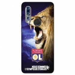 Coque Wiko View 3 Licence Olympique Lyonnais - Rage de vaincre