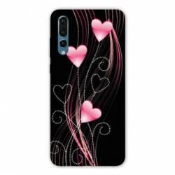 Coque Samsung Galaxy Note 10 Cœur rose Montant