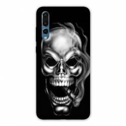 Coque Samsung Galaxy Note 10 tete de mort Fume