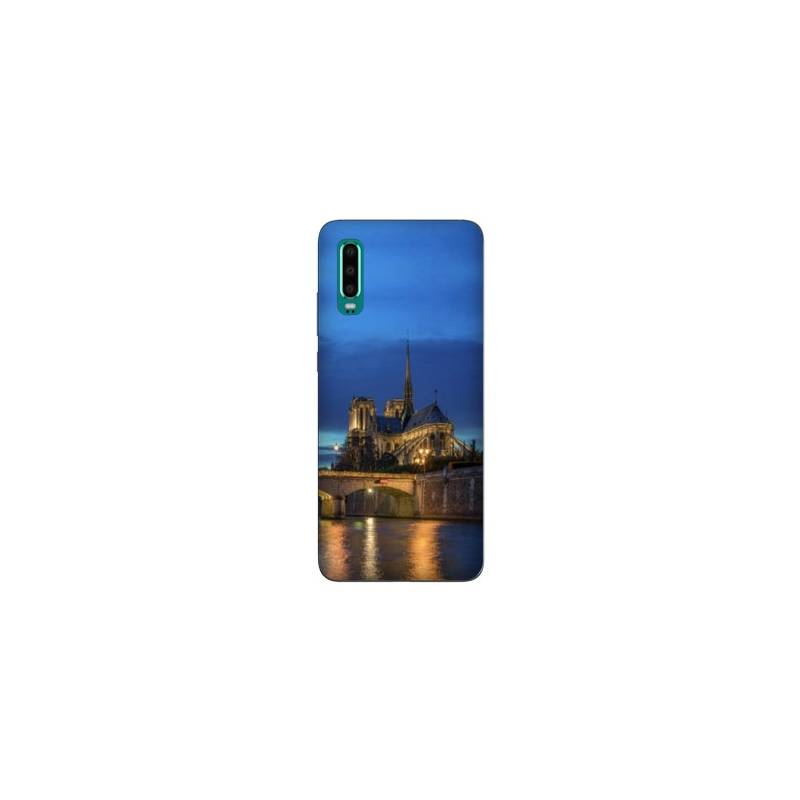 Coque Samsung Galaxy Note 10 France Notre Dame Paris night