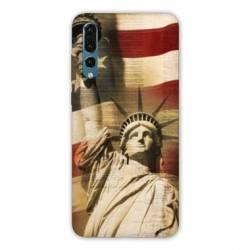 Coque Samsung Galaxy Note 10 Amerique USA Statue liberté
