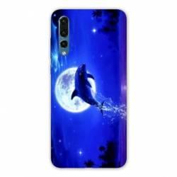 Coque Samsung Galaxy Note 10 Dauphin lune