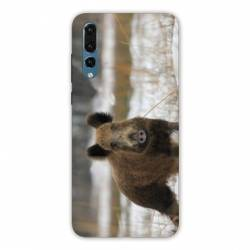 Coque Samsung Galaxy Note 10 chasse sanglier Neige