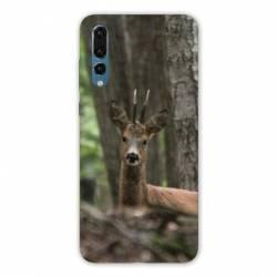 Coque Samsung Galaxy Note 10 chasse chevreuil Bois
