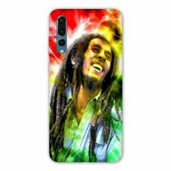 Coque Samsung Galaxy Note 10 Bob Marley Color