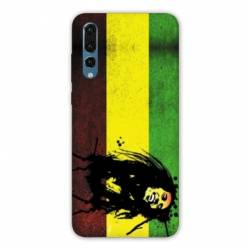 Coque Samsung Galaxy Note 10 Bob Marley Drapeau
