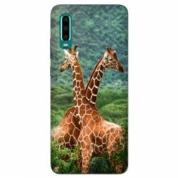 Coque Samsung Galaxy Note 10 savane Girafe Duo