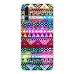 Coque Samsung Galaxy Note 10 motifs Aztec azteque rouge