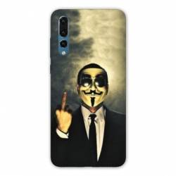 Coque Samsung Galaxy Note 10 Anonymous doigt