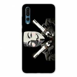 Coque Samsung Galaxy Note 10 Anonymous Gun