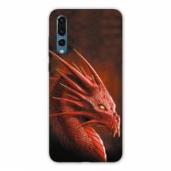 Coque Samsung Galaxy Note 10 Dragon Rouge