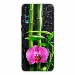 Coque Samsung Galaxy Note 10 orchidee bambou