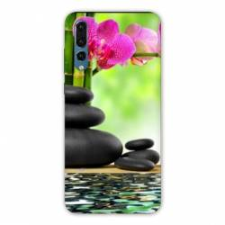 Coque Samsung Galaxy Note 10 orchidee eau