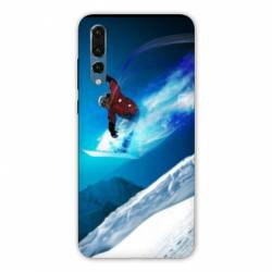 Coque Samsung Galaxy Note 10 Snowboard saut