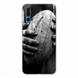 Coque Samsung Galaxy Note 10 Rugby ballon vintage