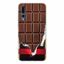 Coque Samsung Galaxy Note 10 Trompe œil chocolat