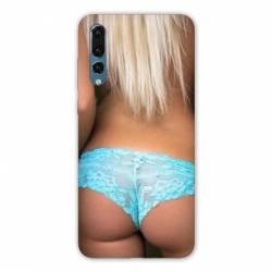 Coque Samsung Galaxy Note 10 Sexy tanga bleu