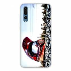 Coque Samsung Galaxy Note 10 Moto Casque Cross