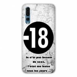 Coque Samsung Galaxy Note 10 Humour 18 ans