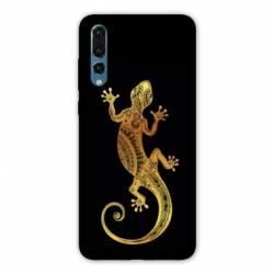 Coque Samsung Galaxy Note 10 Animaux Maori lezard noir