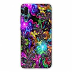 Coque Samsung Galaxy Note 10 Psychedelic colore