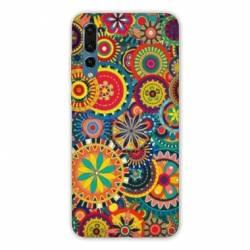 Coque Samsung Galaxy Note 10 Psychedelic Roue